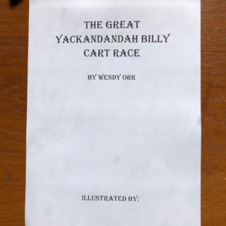 Cover of The Great Yackandandah Billy Cart Race Illustrate it Yourself